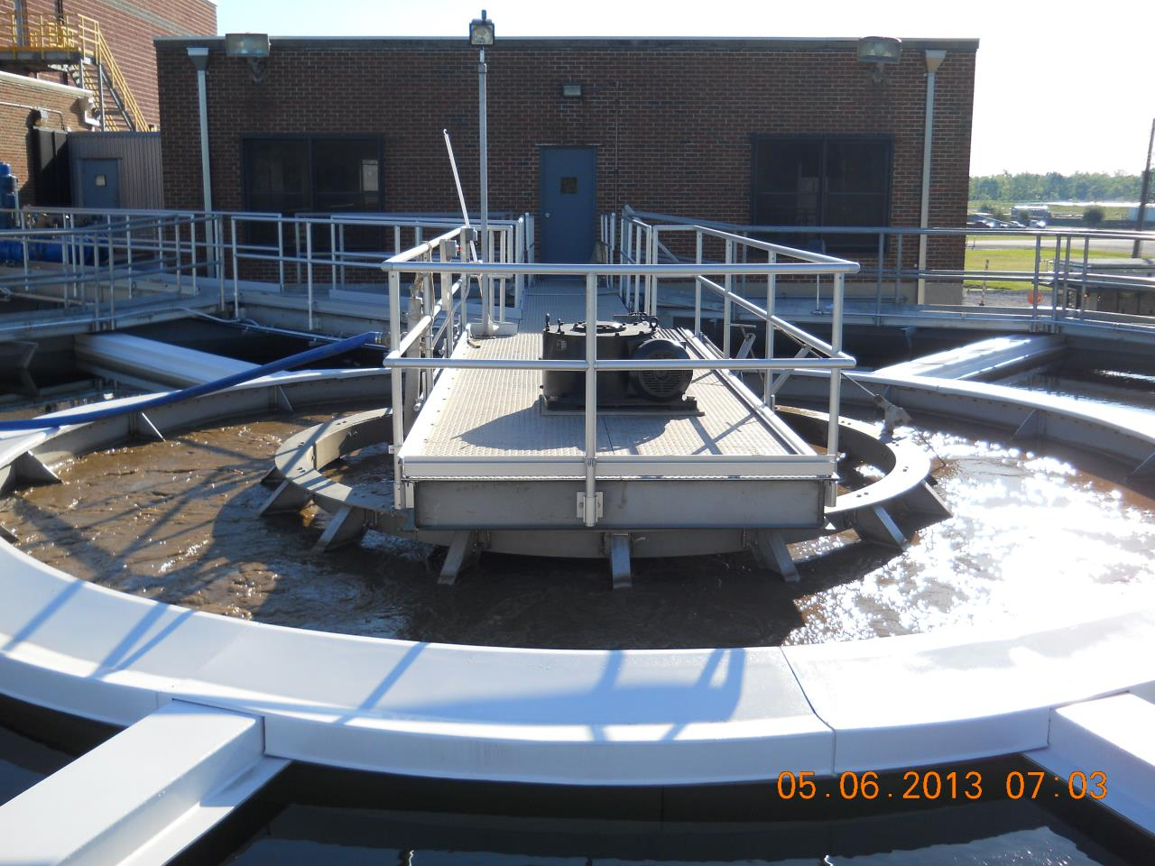 Waterworks East Bank Plant Clarifier Refurbishment