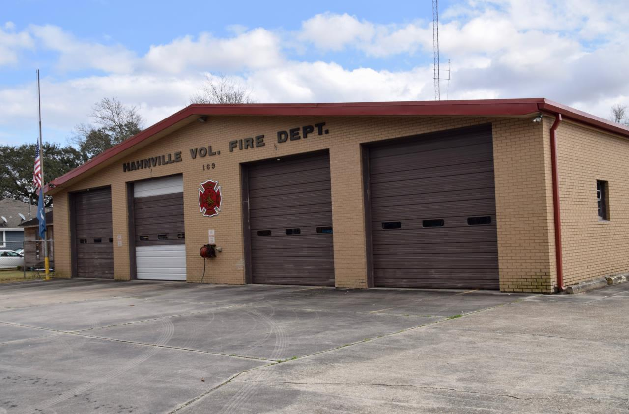 Hahnville Fire station